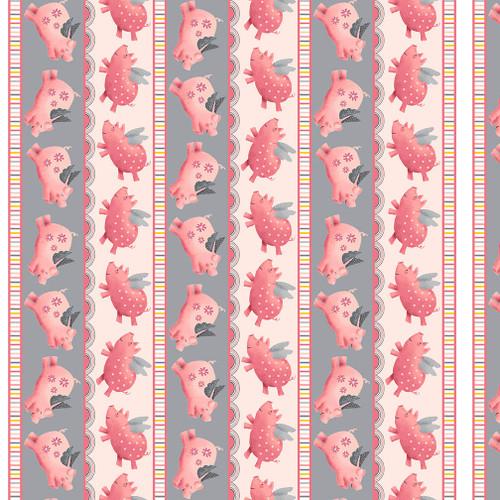 6007-29 Pink/Gray