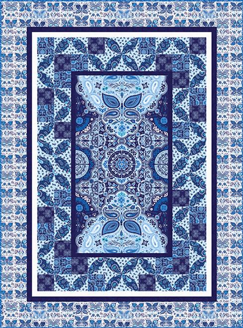 Blue Dreams Quilt #1