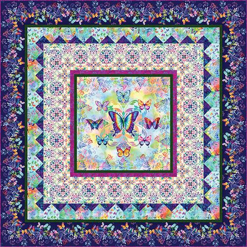 Butterfly Bliss Quilt #1