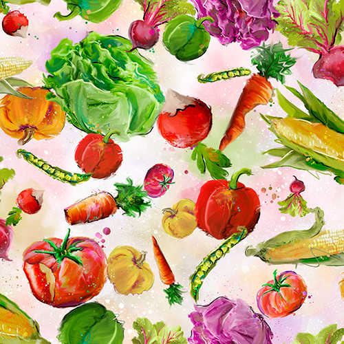 18732-Multi    3 Wishes Fabrics Welcome to the Funny Farm - Digital