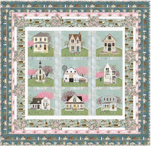 Touch of Spring Quilt and Tote