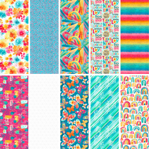 3 Wishes Good Vibes Full Collection || 3 Wishes Fabrics Good Vibes