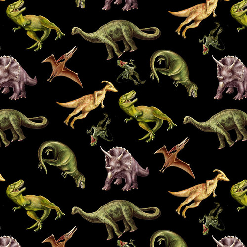 6075-99 Black || March Of The Dinosaurs