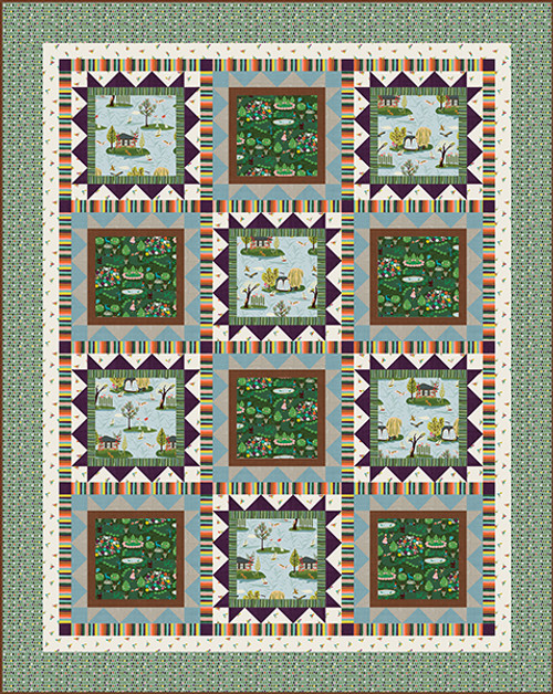 A Walk in the Park Quilt #1