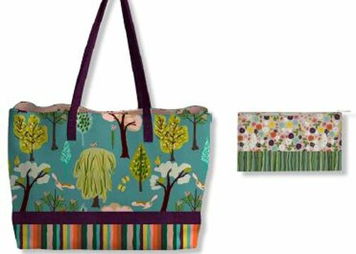 A Walk in the Park Tote and Pouch