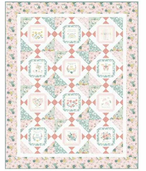 Blossom and Grow Quilt #1