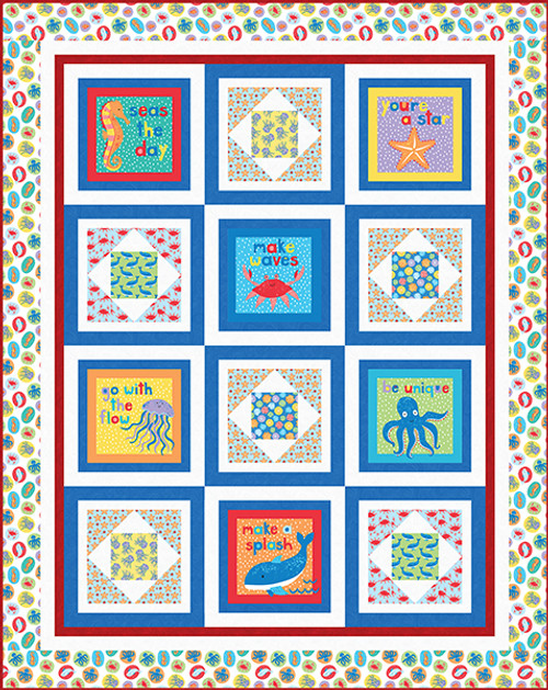 Seas the Day Quilt #1    Seas The Day