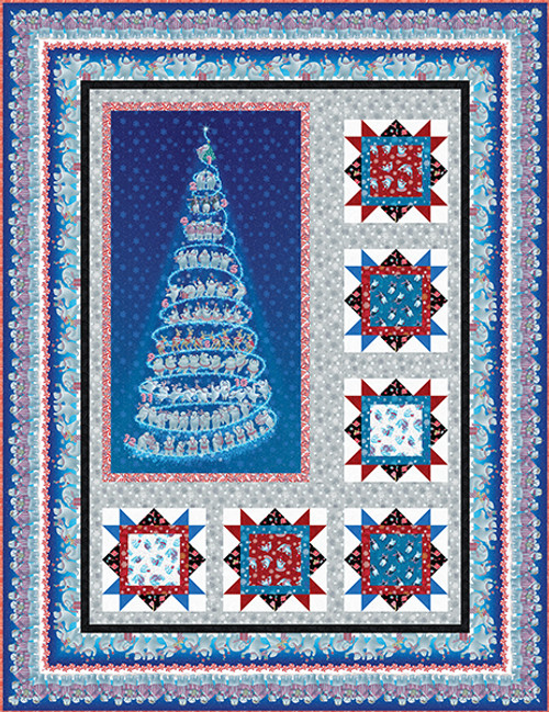 12 Days of Christmas Quilt #1
