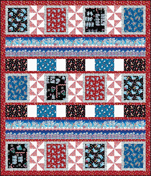 12 Days of Christmas Quilt #2