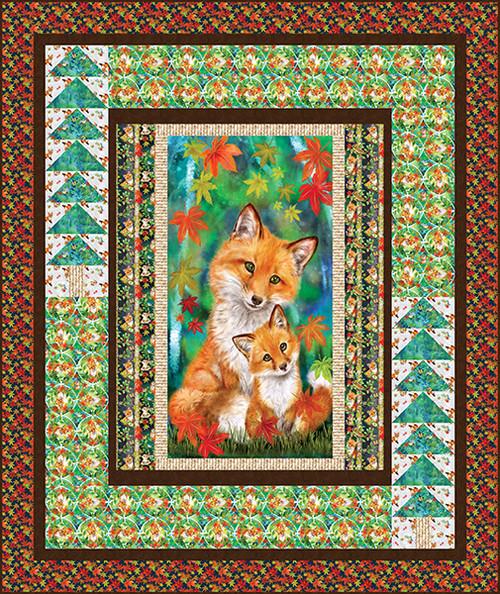 Auburn Fox Quilt #1