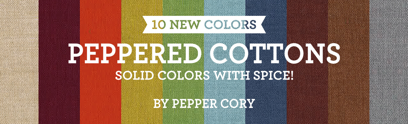 New Peppered Cottons Colors