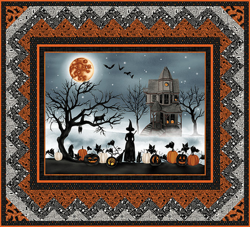 Harvest Moon Quilt #1