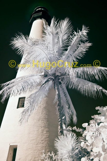 """""""Cape Florida Lighthouse"""" ● Infrared Photography"""