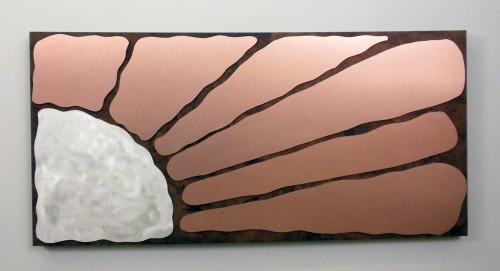 """""""Copper Sun Burst"""" - SOLD"""