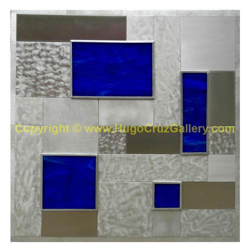 """""""Cobalt Portals"""" ● Metal Art ● (SOLD)"""