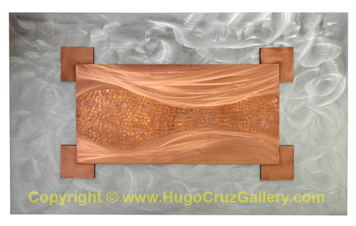 """Fluidity"" ● Metal Art ● (SOLD)"
