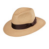 OPORTO Tobacco Panama Hat, in Brisa 3/5 weave with chocolate band