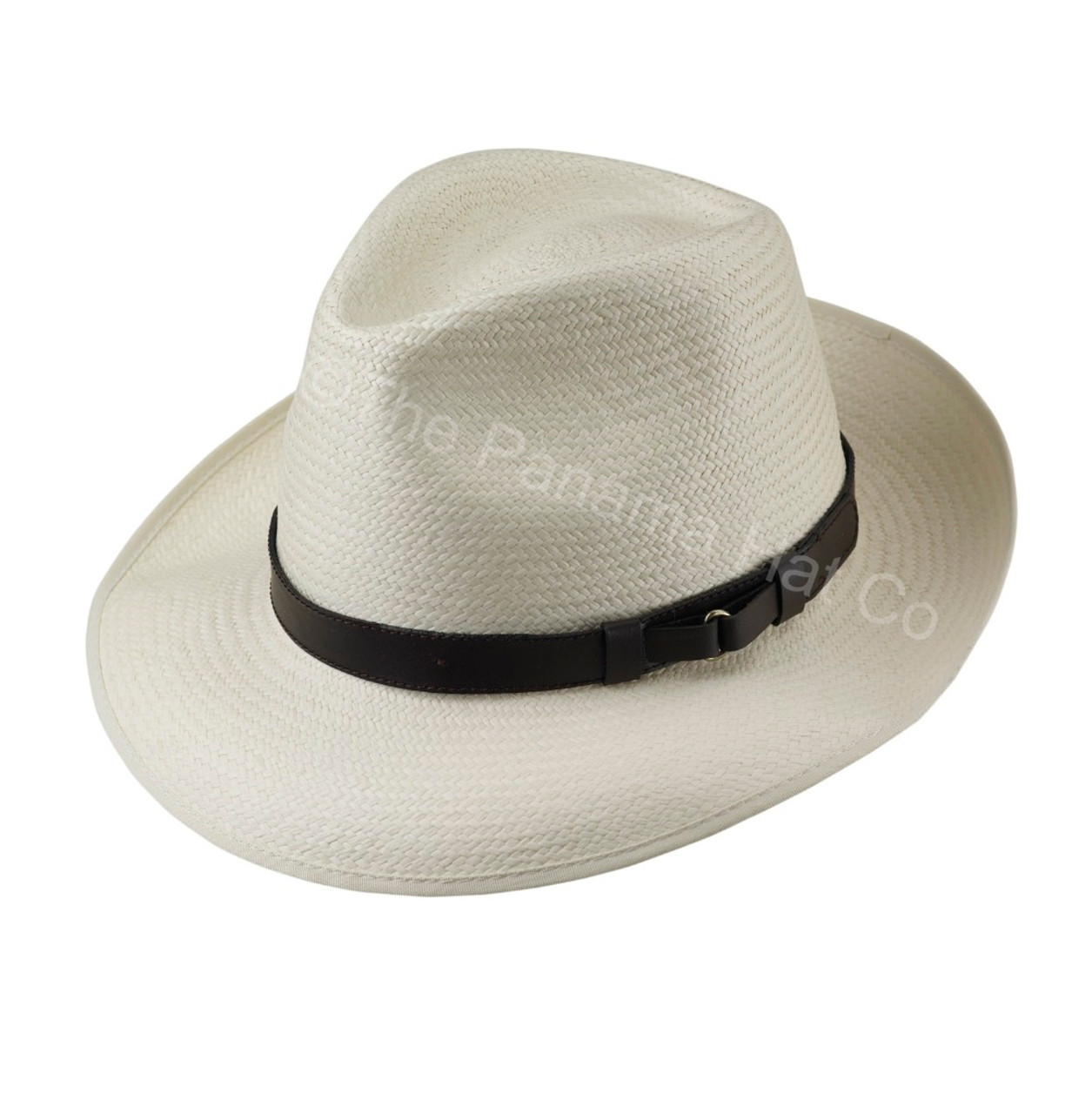 176e5b8bcc0 Snap Brim Trilby panama - Cuenca 3 5 Leather band - The Panama Hat ...