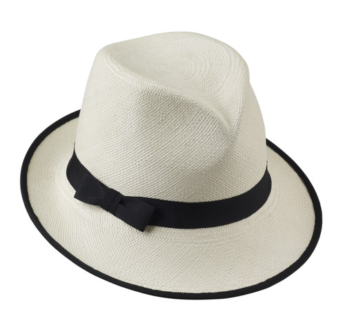 Ladies Missy Trilby - shown in Natural / Black