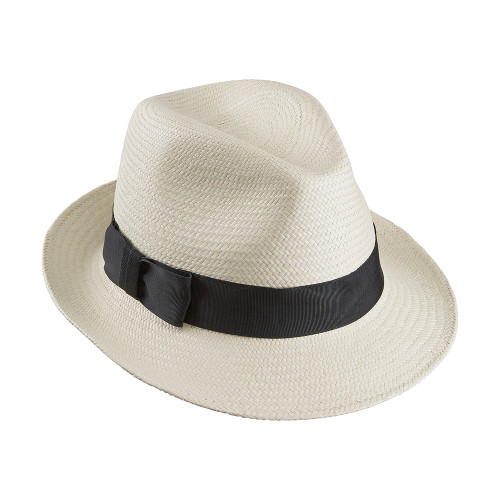 Ladies Jenny Trilby in Cuenca weave with Black band