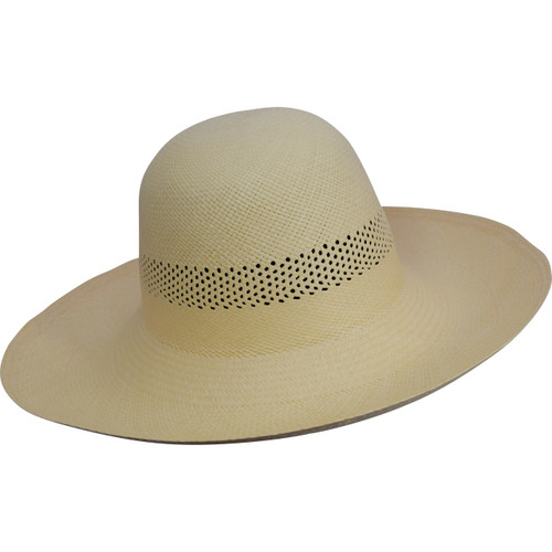 82ea4070a24 Ladies Open Band Capeline Panama Hat