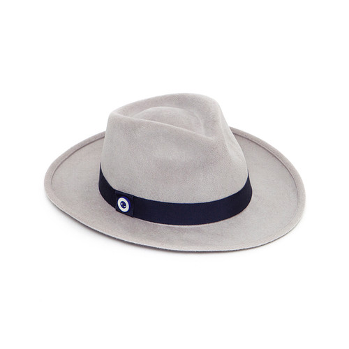 Granada Trilby in Silver Grey