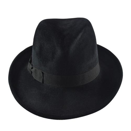 Granada Trilby Felt- Black