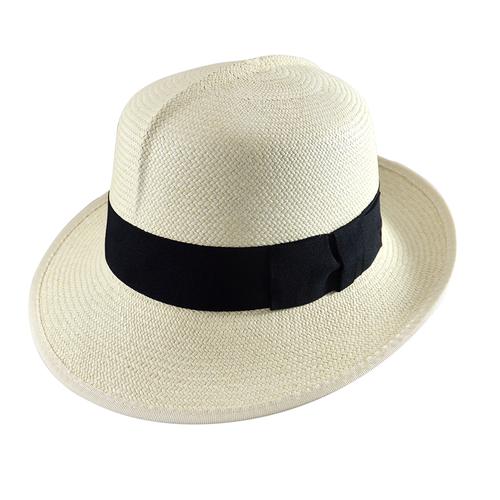 Folder Panama Hat - Cuenca 3/5 Ivory