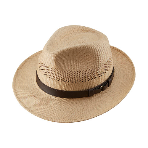 Open Crown Snap Brim Trilby