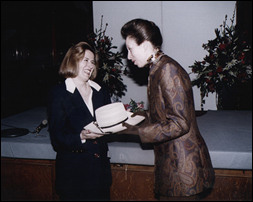 Jenny and Princess Anne