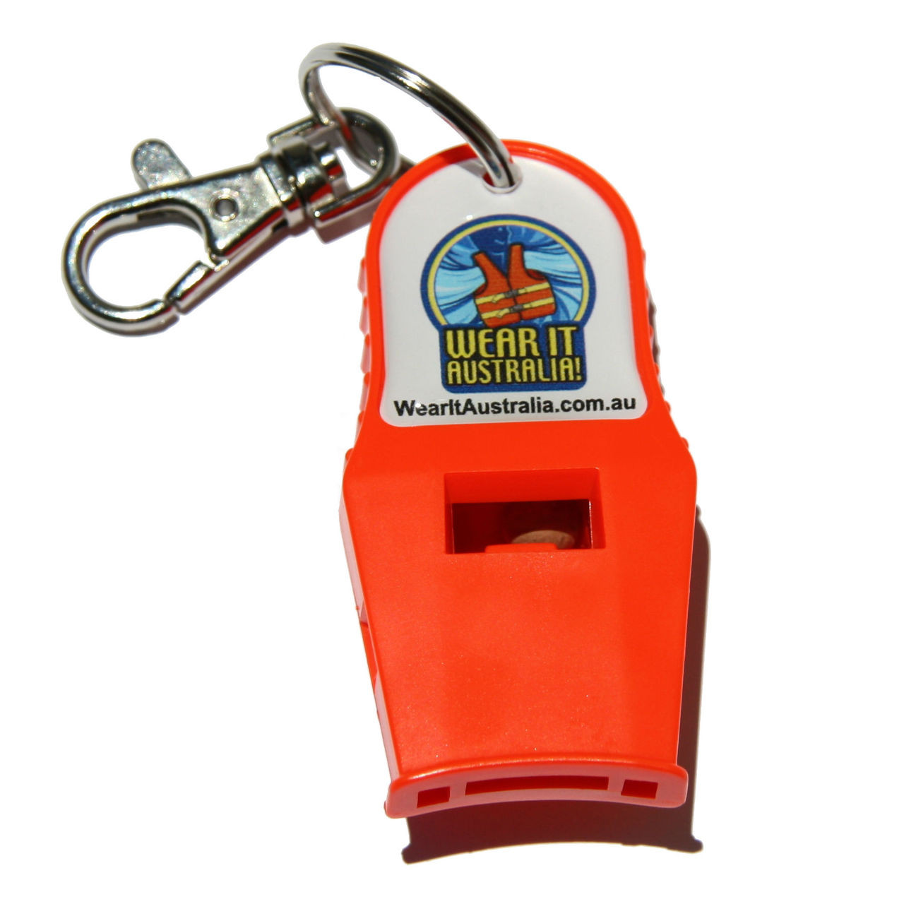 Rescue Essentials PEALESS Safety Whistle CLIPPABLE