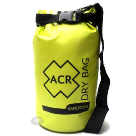 Tough water resistant fabric. Brightly yellow coloured to assist in being spotted by Search and Rescue forces from above.