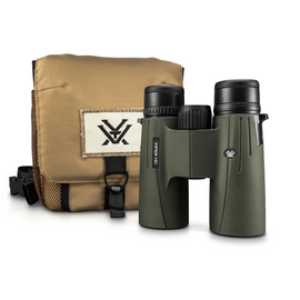 Vortex Viper HD 8x42 Binocular features the classic roof prisms and rubber armor protection that make this binocular compact yet durable.
