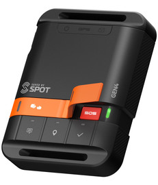 Saved by Spot - SPOT Gen4 lets family, friends and colleagues know you are okay, or if the unexpected should happen raise an alert utilising the a global Globalstar satellite network. SOS feature- ready for activation.