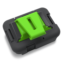 Zoleo Cradle kit offers a secure fit and quick access when needing to activate the SOS or Check-in feature.
