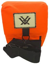 Vortex Blaze Orange GlassPak Binocular harness with multiple strap options.