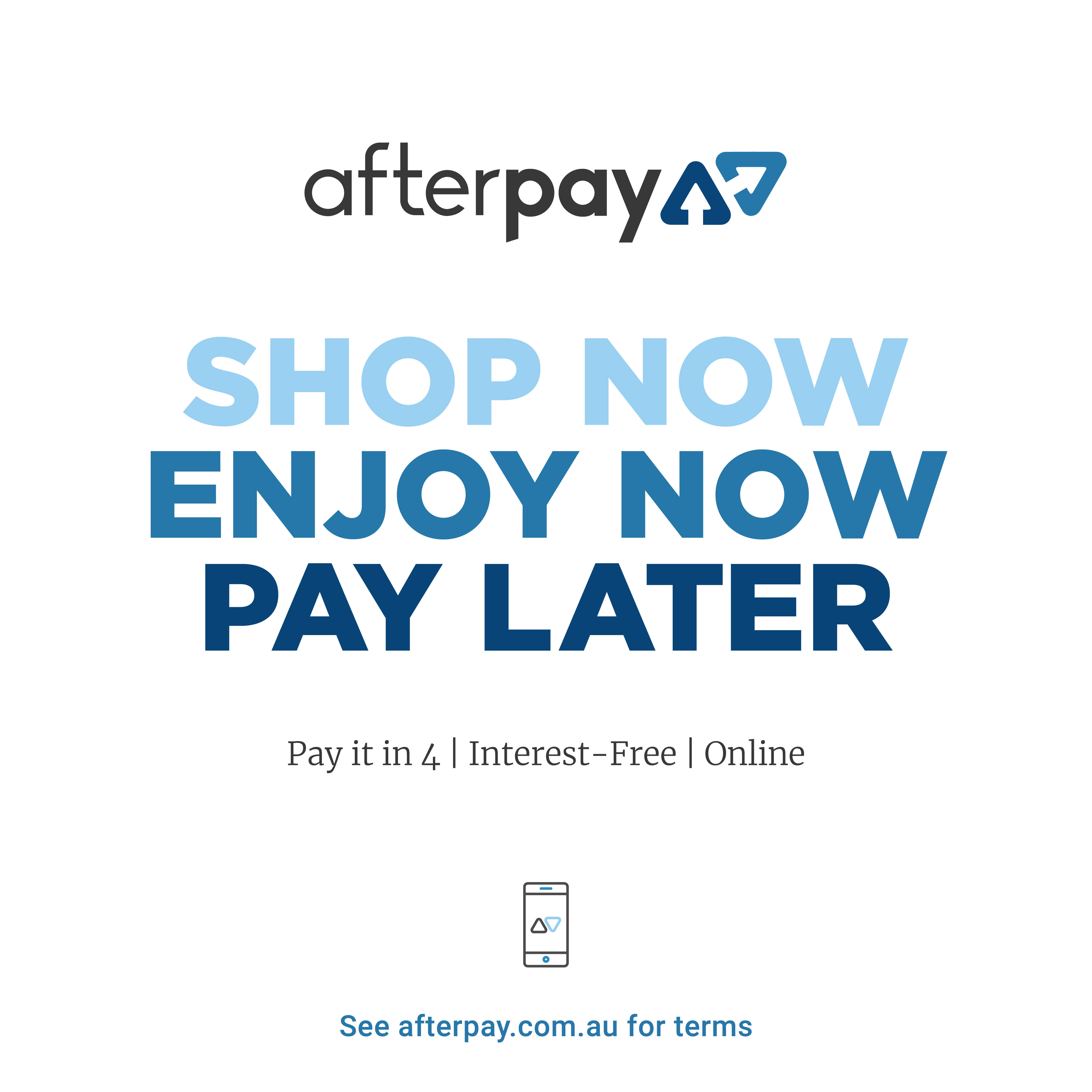 Pay it in 4 Interest Free Payments Online