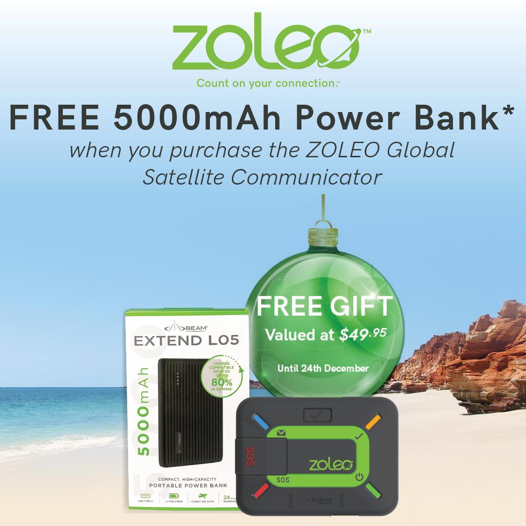 ZOLEO with FREE 500mAh Power Bank