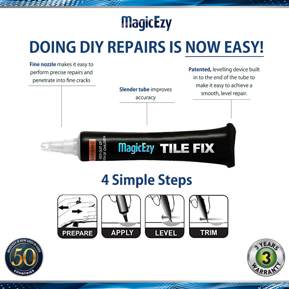 **MagicEzy Tile Fix™ (not available in USA)