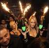 Champagne Bottle Sparklers