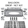 DROP NET FOR BALLOONS