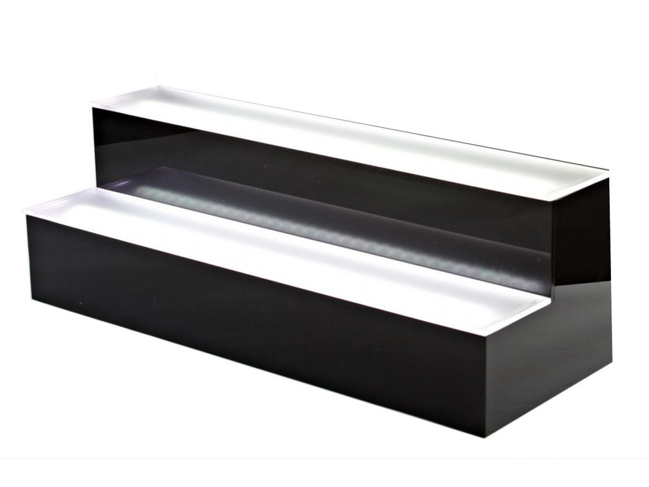 LED LIGHT UP SHELVE 2TIER/7FEET