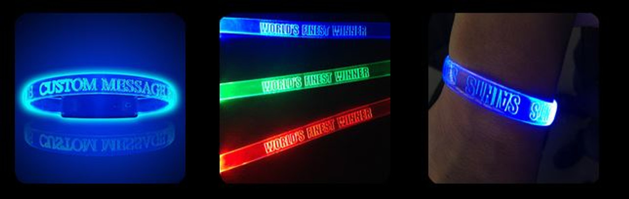 LED ENGRAVE BANDS