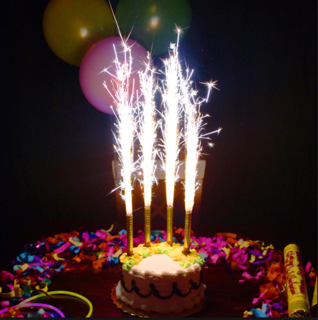 Champagne Bottle Sparklers Birthday Cake Candle Sparklers For Bottles