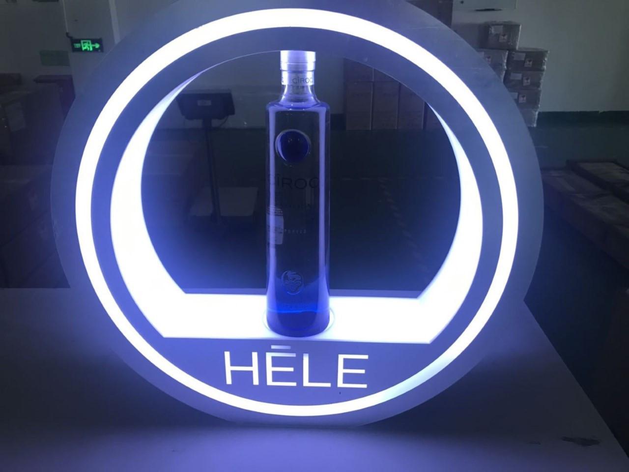 Bottle Presenter for Bottle Service