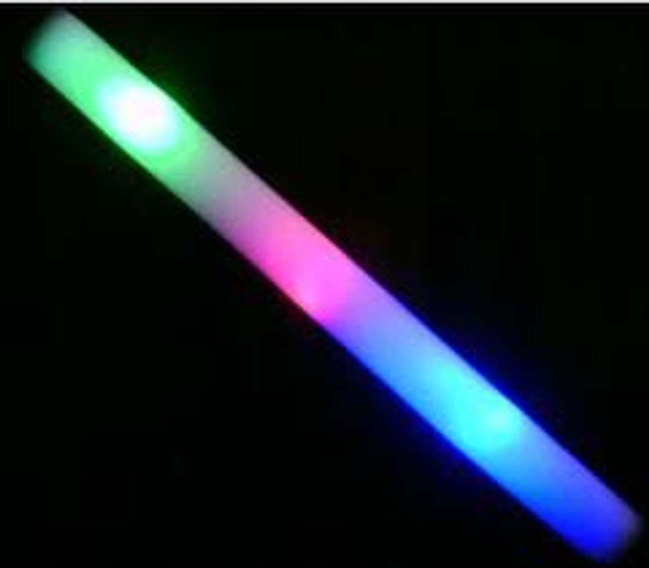 flashing foam light stick for all night parties