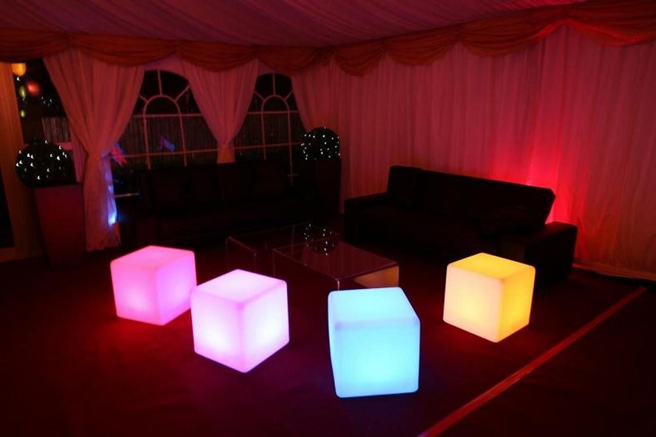Led cubes, led furniture, lounge, rave, nightclub, backyard,led, bars,