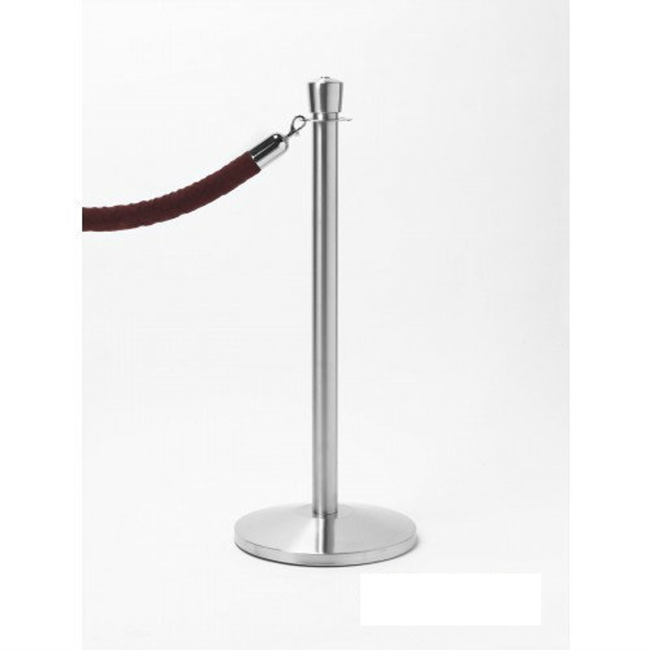 portable post, post and rope, metal stanchion, crowd control