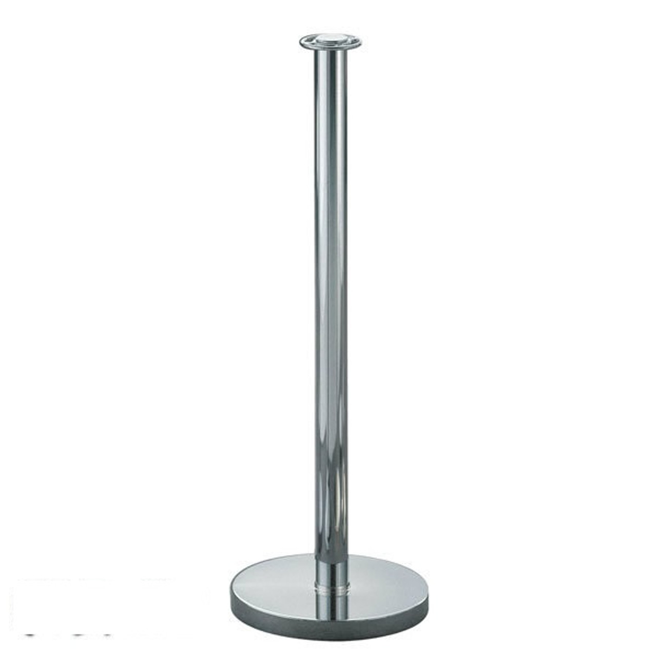 portable post, post and rope, metal stanchion, crowd control,post  flat