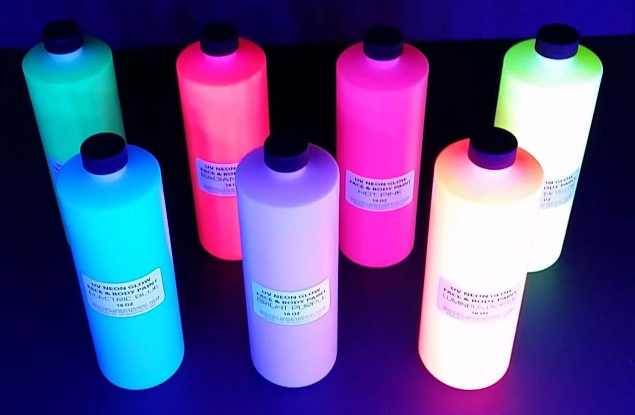uv glow paing for body paint